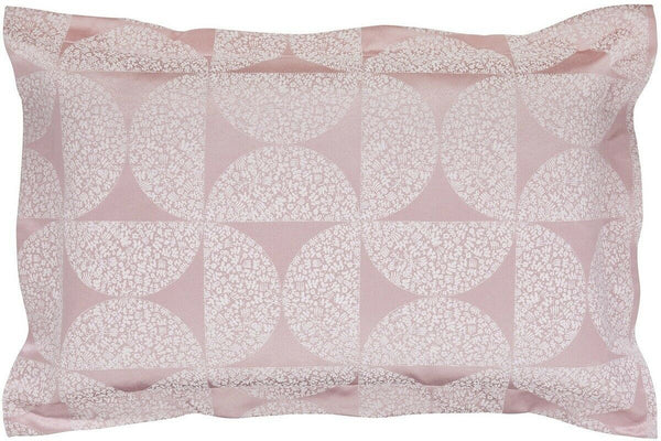 Helena Springfield POSY Floral Glossy Pink Jacquard Cushion Pillow Case OXFORD