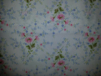 RALPH LAUREN Shabby Pink Blue wh COTTAGE FLORAL XDP Chic TWIN SHEET SET Romantic