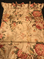 RARE! Ralph Lauren Guinevere Cotton-Sateen Pair King Pillowcases Near Mint