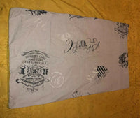 Pair Ralph Lauren Polo Standard Pillowcases United Kingdom University Cup Blue