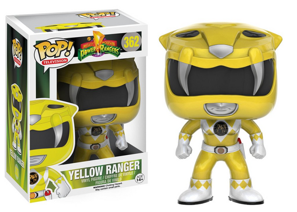 POP! POWER RANGERS Yellow Ranger VINYL FIG