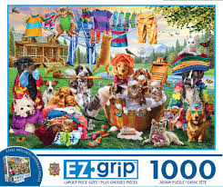 Laundry Day Rascals 1000pc Puzzle