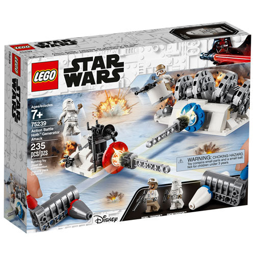 Star Wars - Action Battle Hoth Generator Attack Lego