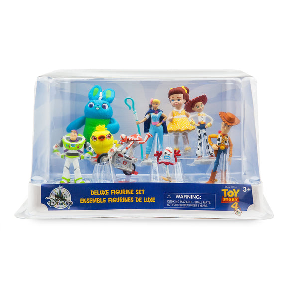 Toy Story 4 - 9pc Deluxe Figure Set
