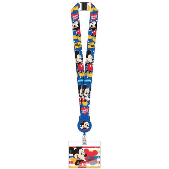 Mickey Mouse Zip Lanyard