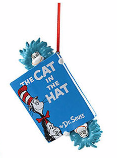 DR SEUSS Hats Off to Cat ORNAMENT