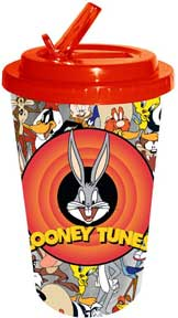 Looney Tunes - Collage 16oz Flip Straw Cup