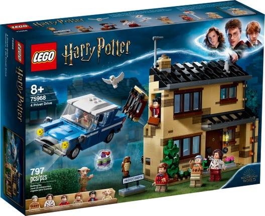Harry Potter - 4 Privet Drive Lego