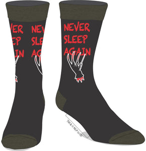 Nightmare on Elm Street - Never Sleep Again Crew Socks