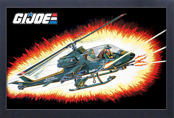 G.I. Joe - Helicopter 11x17 Framed Print