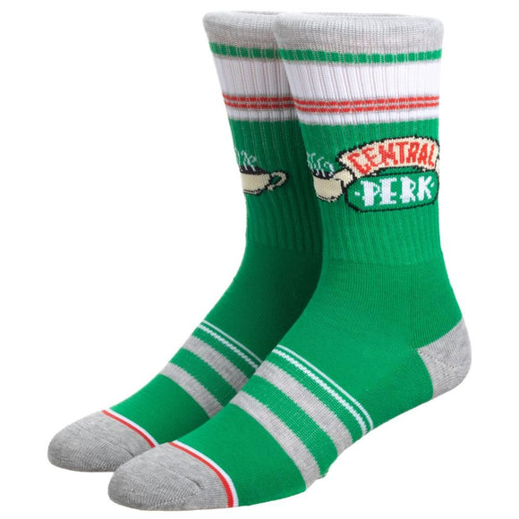 Friends - Stripe Central Perk Crew Socks