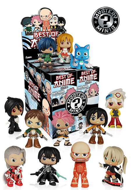 MYSTERY MINIS Srs 1 ANIME