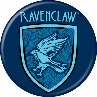 Harry Potter - Ravenclaw Shield Button