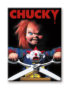 Child's Play - Chucky with Scissors Magnet