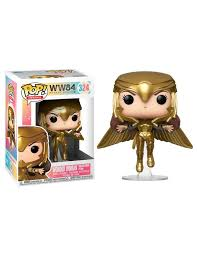 POP! WW84 - Wonder Woman Gold Flying