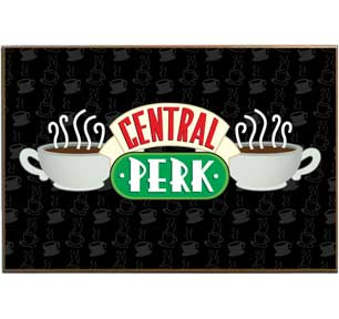 Friends - Central Perk 13x19 Wood Wall Art