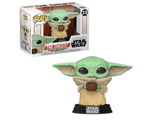 POP! The Mandalorian - The Child with Cup