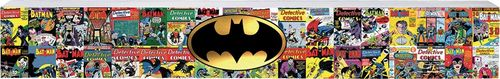 Batman Comics Long Wood Sign