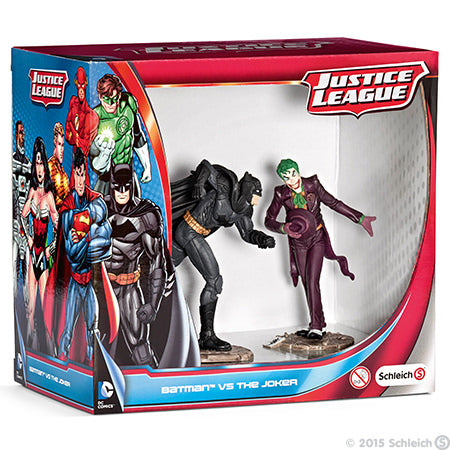 DC Batman vs Joker 2pk FIGS