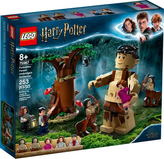 Harry Potter - Forbidden Forest: Umbridge's Encounter Lego