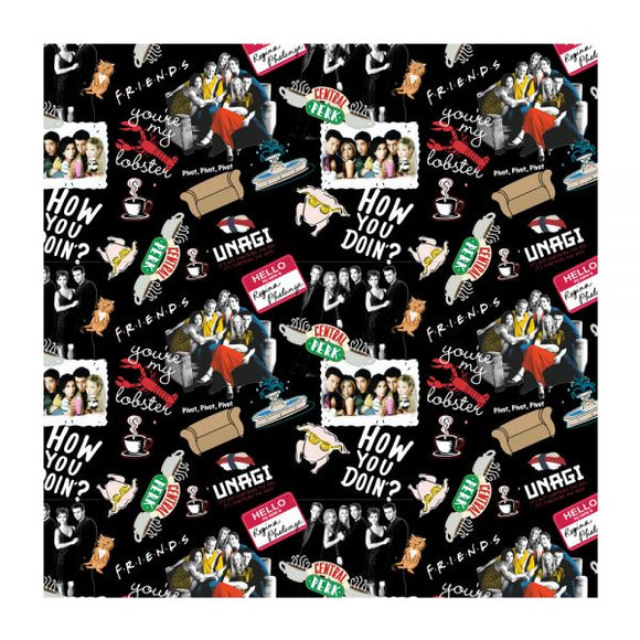 Friends Collage Bandana