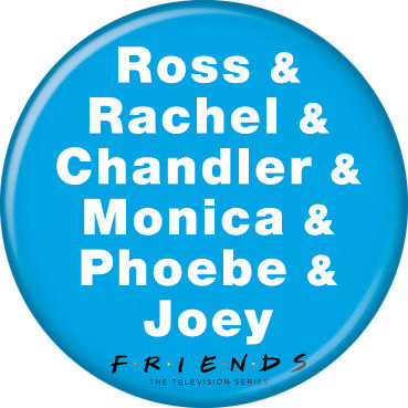 Friends - Names Button