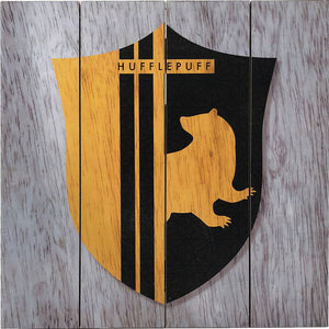 Harry Potter - Hufflepuff Shield Wood Sign
