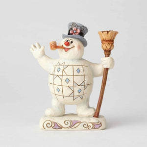 "Frosty the Snowman - ""See You Next Christmas Day"" Jim Shore"