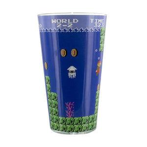 Super Mario Game Glass