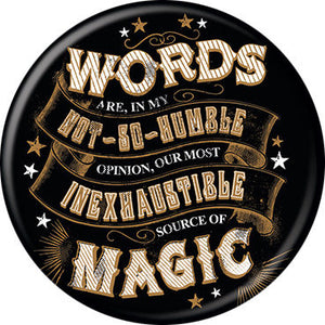 Harry Potter - Words Are Magic Button