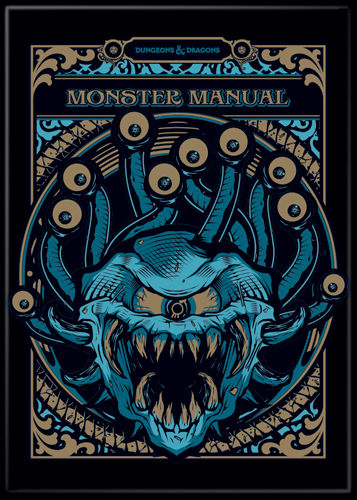 Dungeons & Dragons - Monster Manual Magnet