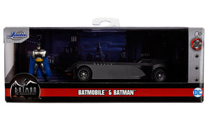 Batman Animated Series - Batmobile Die Cast with Figure