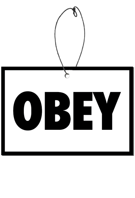 They Live - Obey Fear Freshener (Bubblegum Scent)
