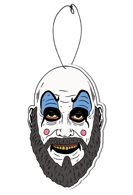 House of 1,000 Corpses - Captain Spaulding Fear Freshener (Strawberry Scent)