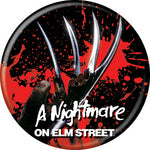 Nightmare on Elm Street - Freddy Glove Button