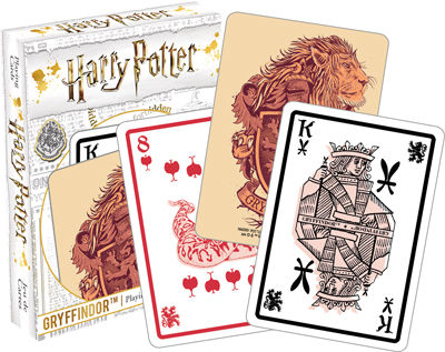 Harry Potter - Gryffindor Playing Cards