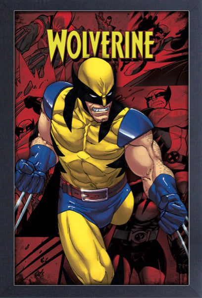 X-Men - Wolverine Scowl 11x17 Framed Print
