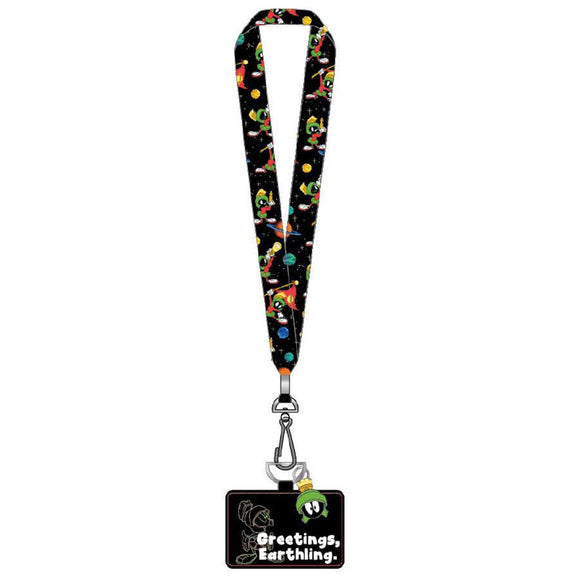 Loungefly - Looney Tunes: Marvin the Martian Lanyard with Cardholder