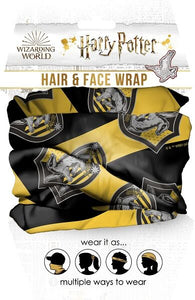 Harry Potter - Hufflepuff Hair & Face Wrap