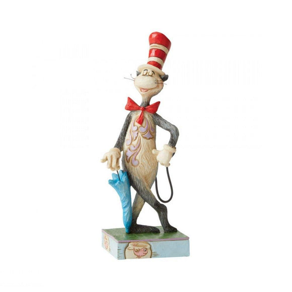 Dr.Seuss - Cat in the Hat with Umbrella Jim Shore