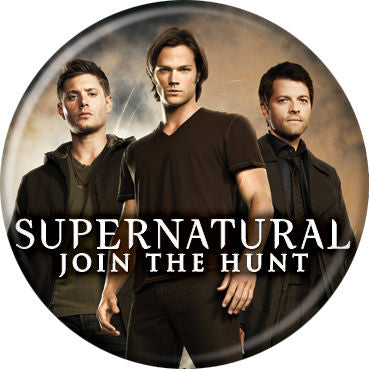 Supernatural Trio Button