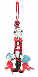 Dr. Seuss - Bow-Tied Cat With Things Ornament