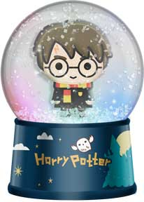 Harry Potter - Chibi Light Up Glitter Globe