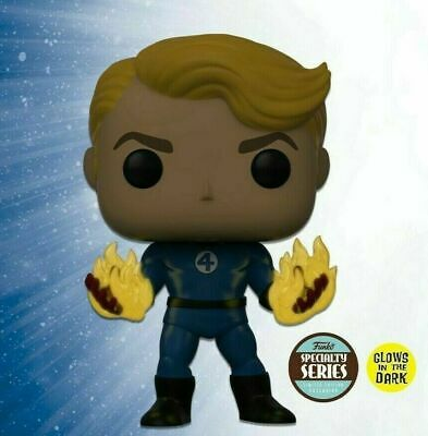POP! Fantastic Four - Human Torch Specialty Series