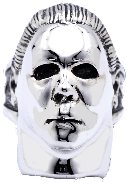Halloween - Michael Myers Plated Brass Ring (Size 9)