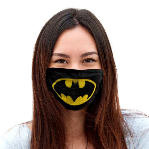 Batman Logo Face Mask