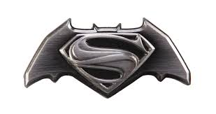 Batman vs. Superman Pewter Deluxe Lapel Pin