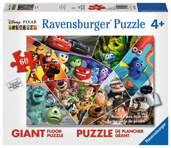 Disney Pixar Collage 60Pc Floor Puzzle