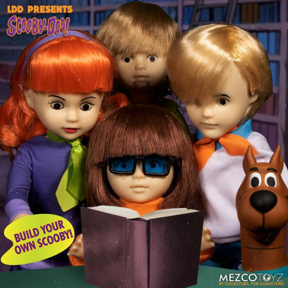 Living Dead Dolls - Build-a-Scooby Set