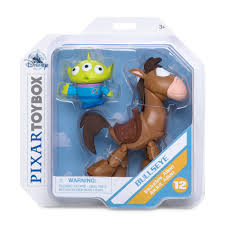 Toy Box - Bullseye & Alien Figure